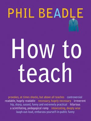 cover image of How to Teach