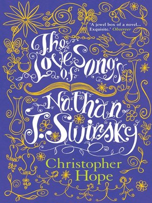 cover image of The Love Songs of Nathan J. Swirsky