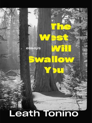 cover image of The West Will Swallow You