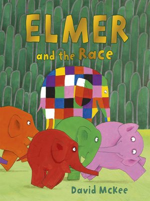cover image of Elmer and the Race