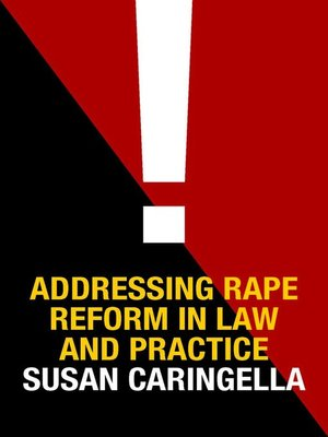 cover image of Addressing Rape Reform in Law and Practice