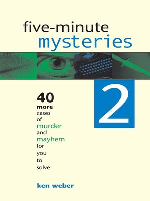 cover image of Five-minute Mysteries 2