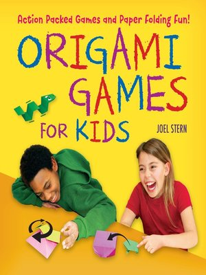 cover image of Origami Games for Kids Ebook