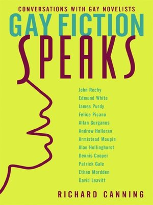 cover image of Gay Fiction Speaks