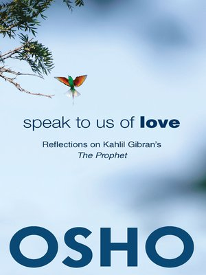 cover image of Speak to Us of Love