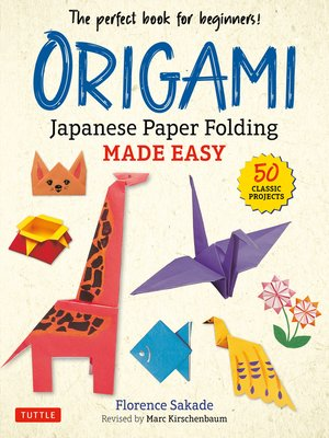 cover image of Origami Japanese Paper Folding