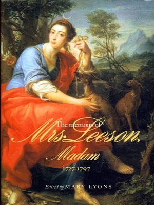 cover image of The Memoirs of Mrs Leeson, Madam