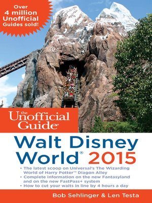 the unofficial guide to walt disney 2014 epub