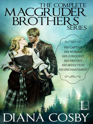 cover image of The MacGruder Brothers ebook boxset (Diana Cosby)
