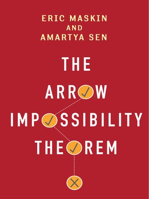cover image of The Arrow Impossibility Theorem