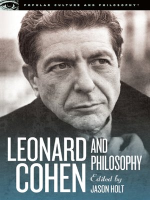 cover image of Leonard Cohen and Philosophy