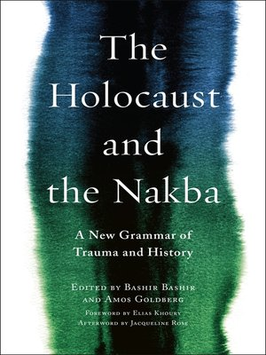 cover image of The Holocaust and the Nakba
