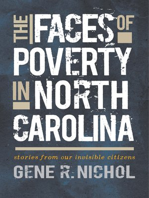 cover image of The Faces of Poverty in North Carolina
