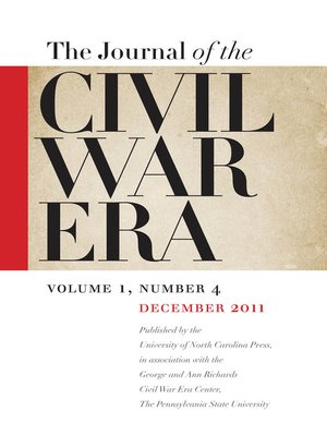cover image of Journal of the Civil War Era