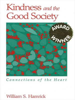 cover image of Kindness and the Good Society
