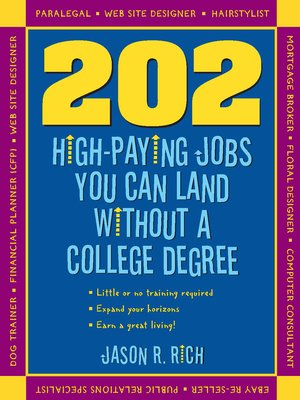 cover image of 202 High Paying Jobs You Can Land Without a College Degree