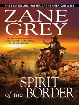cover image of Spirit of the Border