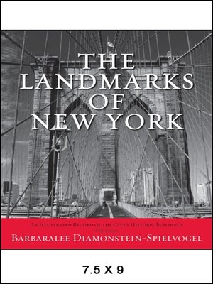 cover image of The Landmarks of New York
