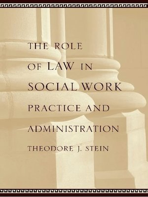 cover image of The Role of Law in Social Work Practice and Administration