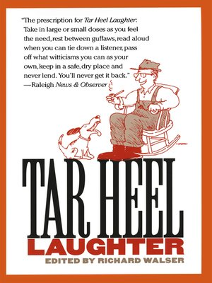 cover image of Tar Heel Laughter