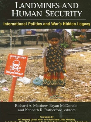 cover image of Landmines and Human Security
