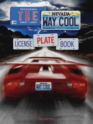 cover image of The Way Cool License Plate Book