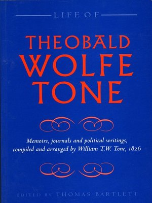 cover image of Life of Theobald Wolfe Tone