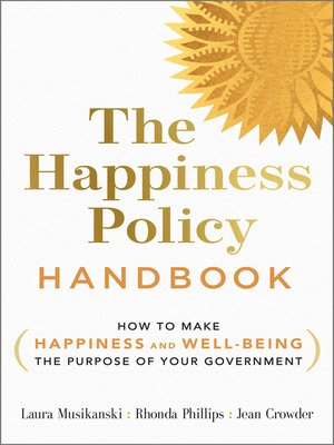 cover image of The Happiness Policy Handbook