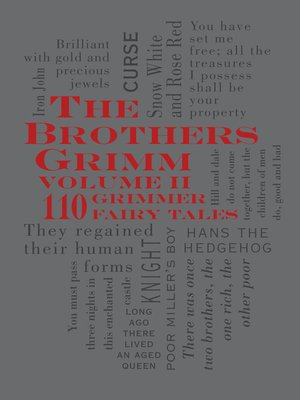 cover image of The Brothers Grimm Volume 2