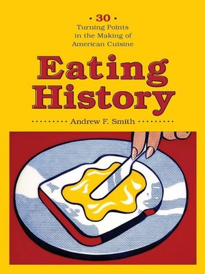 cover image of Eating History