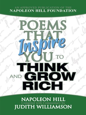 cover image of Poems That Inspire You to Think and Grow Rich