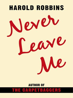 cover image of Never Leave Me