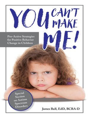 cover image of You Can't Make Me!