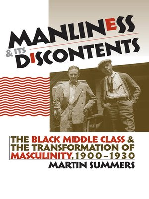 cover image of Manliness and Its Discontents