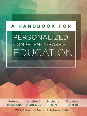 cover image of A Handbook for Personalized Competency-Based Education