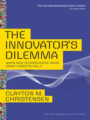 cover image of The Innovator's Dilemma