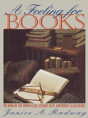 cover image of A Feeling for Books