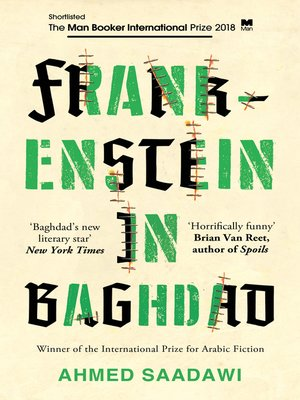 cover image of Frankenstein in Baghdad