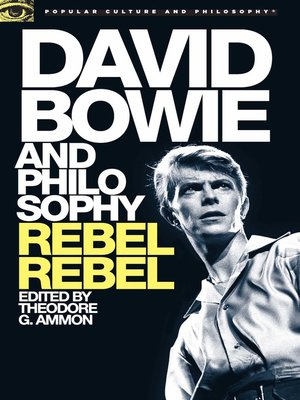 cover image of David Bowie and Philosophy