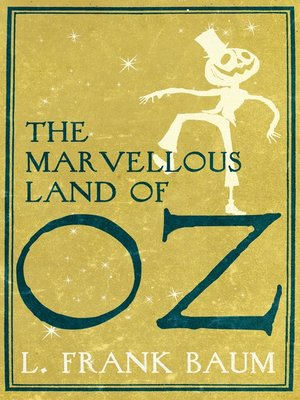 cover image of The Marvellous Land of Oz