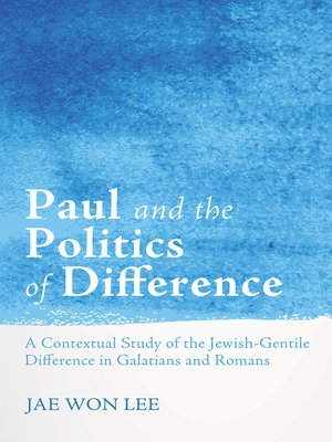cover image of Paul and the Politics of Difference
