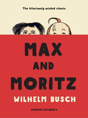 cover image of Max and Moritz
