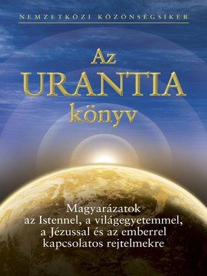 cover image of Az Urantia könyv
