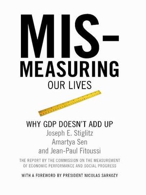 cover image of Mismeasuring Our Lives