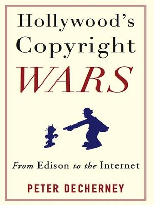 cover image of Hollywood's Copyright Wars
