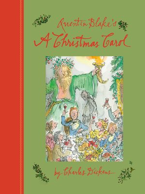 cover image of Quentin Blake's a Christmas Carol