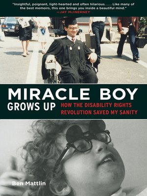 cover image of Miracle Boy Grows Up