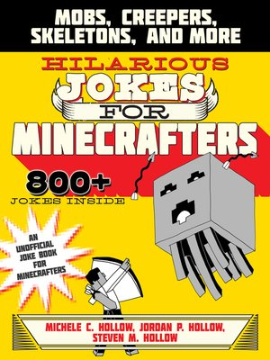 cover image of Hilarious Jokes for Minecrafters