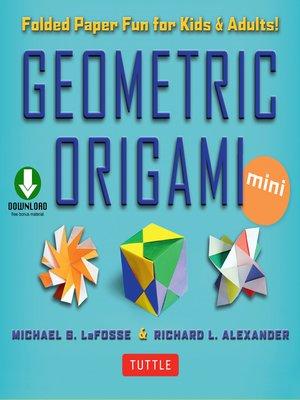 cover image of Geometric Origami Mini Kit Ebook