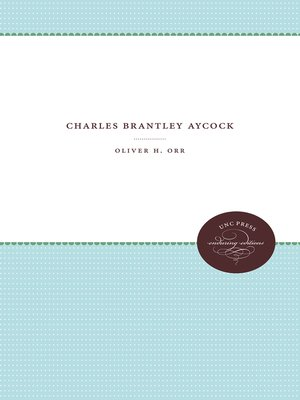 cover image of Charles Brantley Aycock